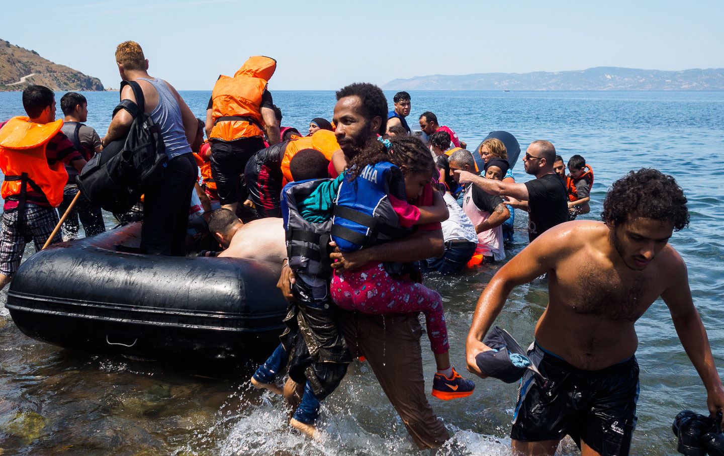 This Is What Greece's Refugee Crisis Really Looks Like