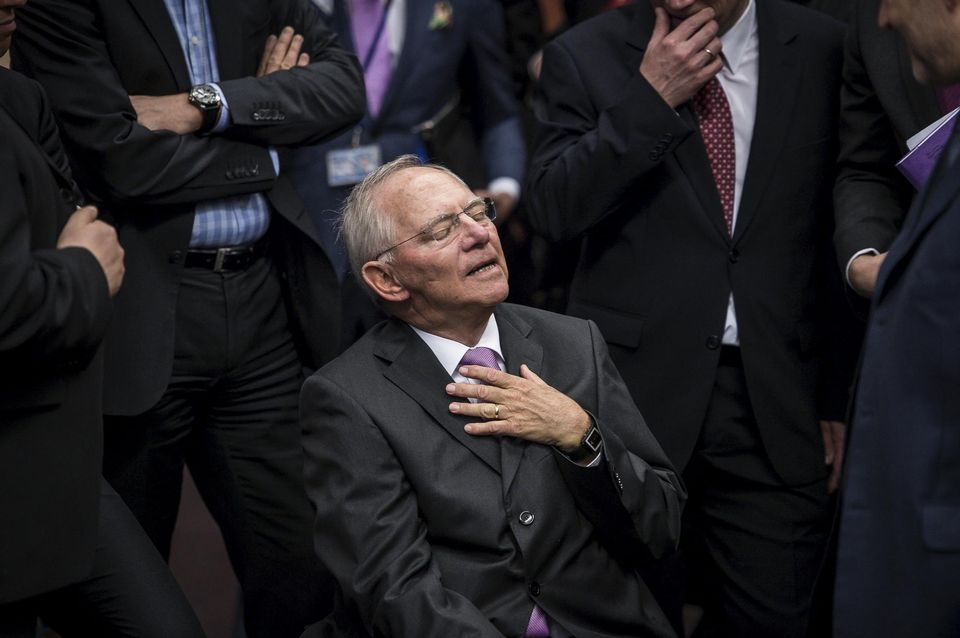 Wolfgang Schäuble : «Il n'y a pas de diktat allemand»
