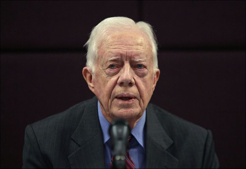 A Brutally Frank Jimmy Carter Calls Out Israel on Permanent Apartheid