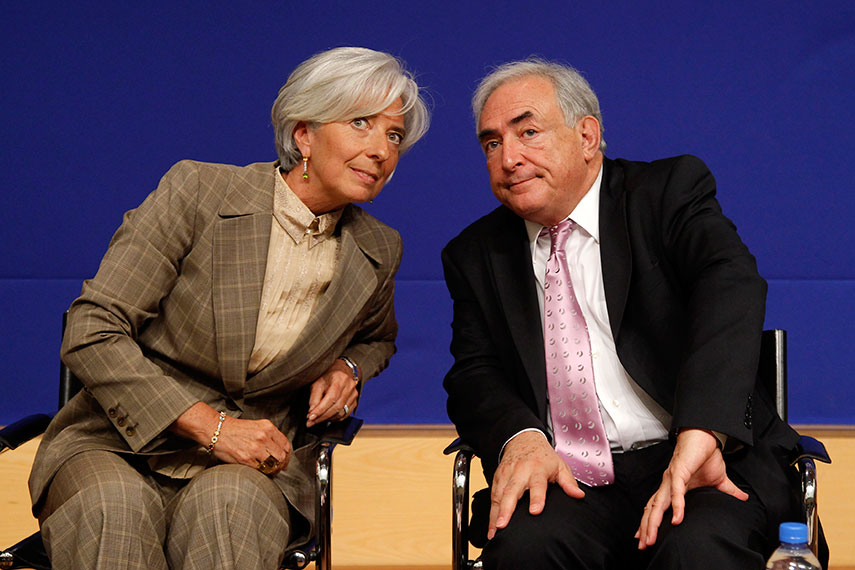 The IMF role in the destruction of Greece