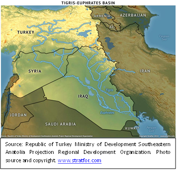 Turkey's aspiring hydrological hegemony