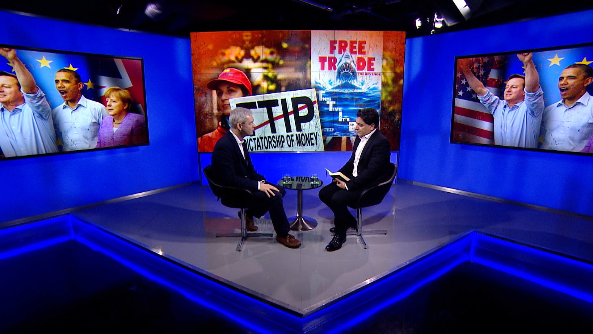Going Underground: John Hilary talks #TTIP (Video)