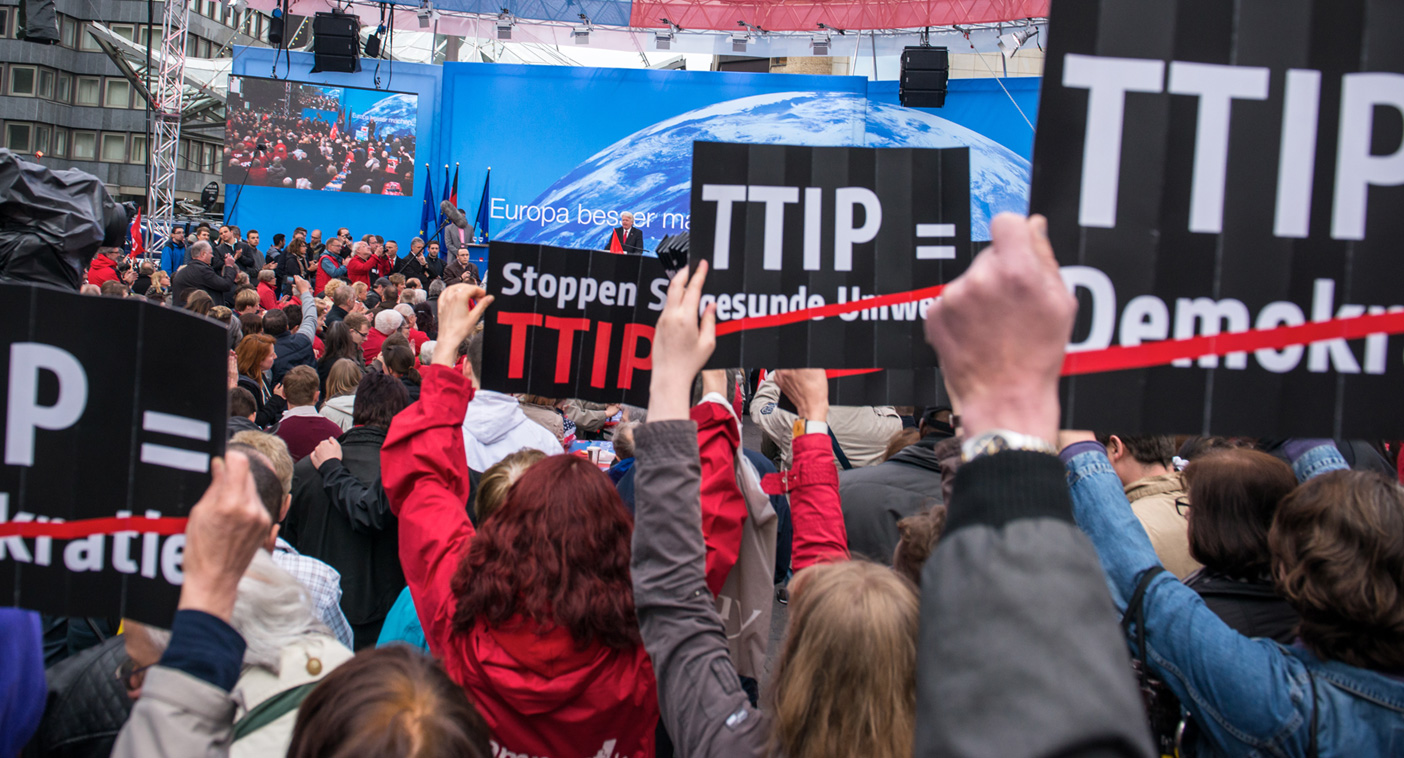 The making of a totalitarian world: six reasons you should be scared about TTIP