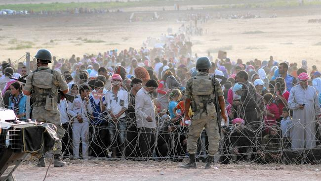 Instead of brutality, hate and hypocrisy, refugees from war deserve our support