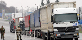 Russia Suspends Traffic of Ukrainian Trucks in Response to Kiev's Blockage