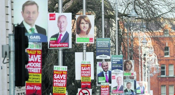 Irish Elections and the day after tomorrow
