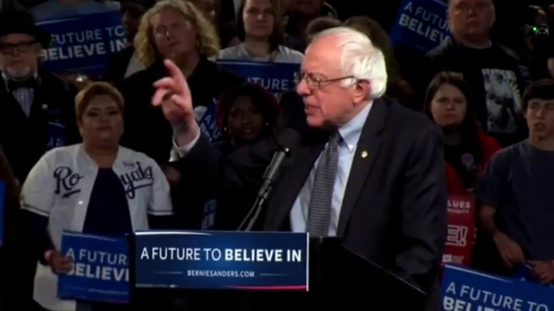 Sanders proposes full reversal of US policy in the Middle East