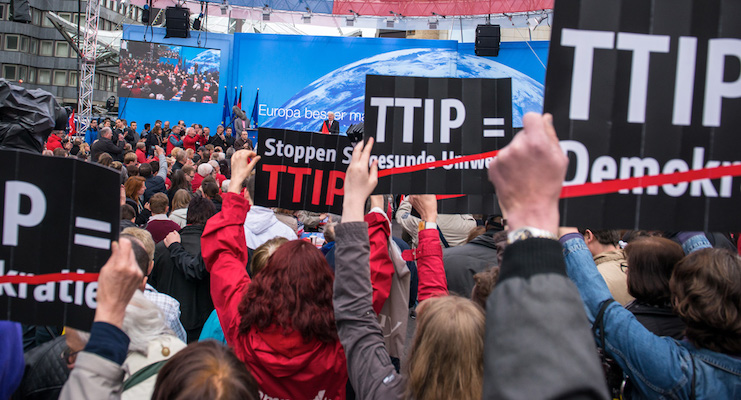 TTIP – Putting Europeans under the rule of Big Business and USA