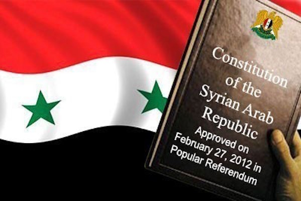 Proposals for a new Syrian Constitution