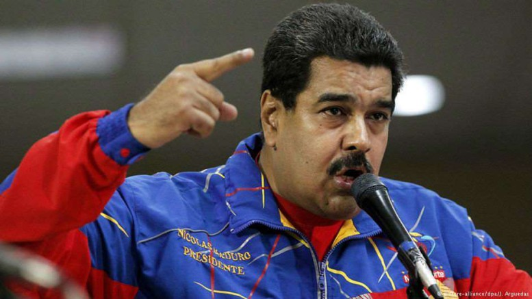 Venezuela Maduro blasts EU 'colonialism' after further sanctions