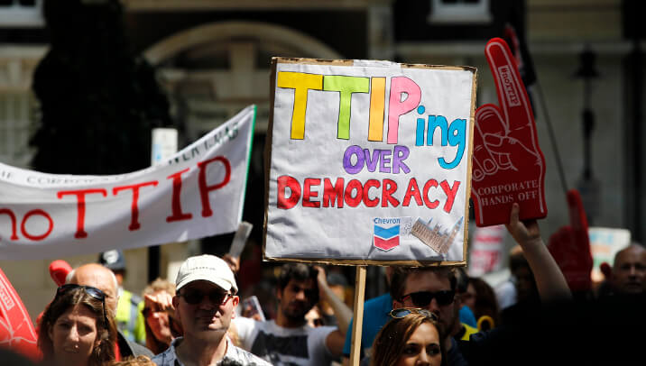 TTIP against national democracy