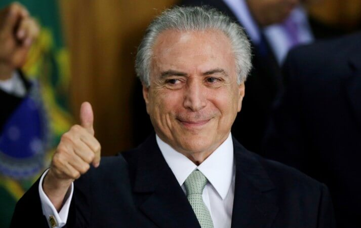 WikiLeaks: Brazil's Acting President Michel Temer Is US Diplomatic Informant