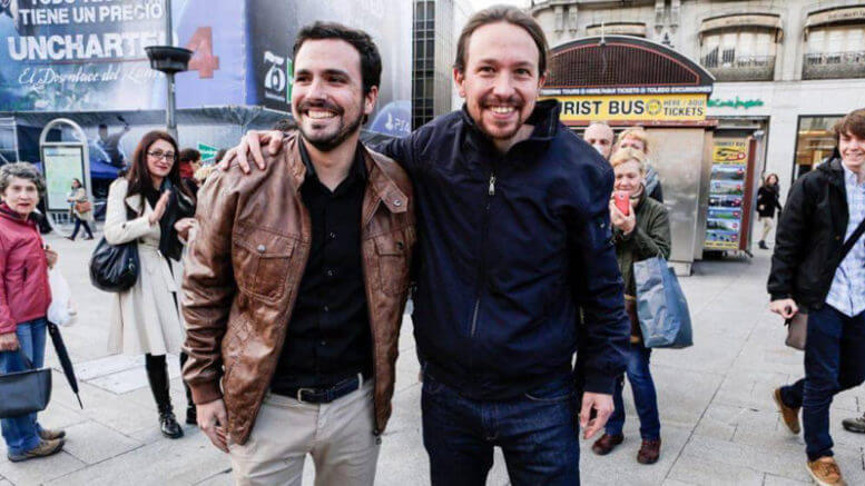 Spain: Podemos – United Left electoral agreement makes the right wing tremble