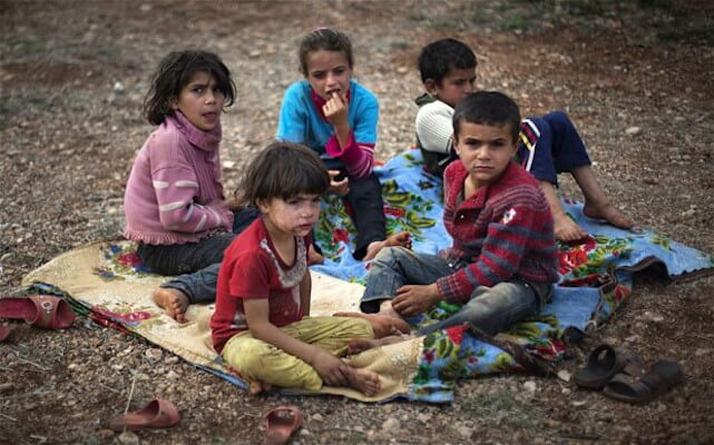 U.S. financial regulations increase starvation among Syria's children