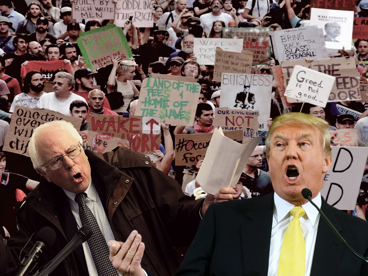 Video: Sanders, Trump, and the American political earthquake