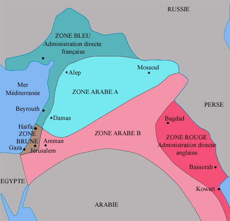 100 Years On: Sykes-Picot Agreement Still Haunts the Middle East