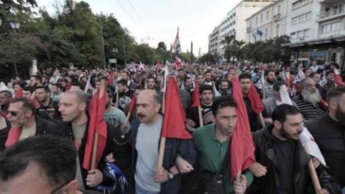 Left – moral collapse in Greece, strategic confusion in Europe