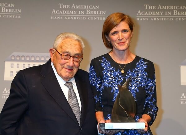 Samantha Power, Henry Kissinger & Imperial Delusions