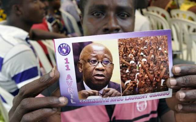 For The Release Of Laurent Gbagbo
