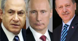Erdogan, Netanyahu, Putin