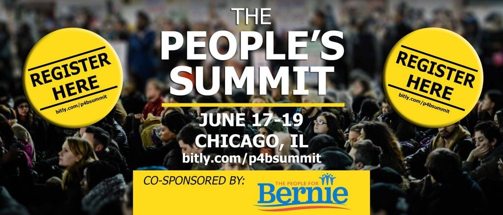 People's Summit Seeks To Take 'Political Revolution' To The Next Level