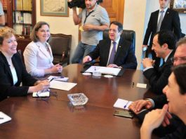 CYPRUS OFFICIALS IN STEALTH TALKS WITH VICTORIA NULAND ON TURKISH TROOP PLAN