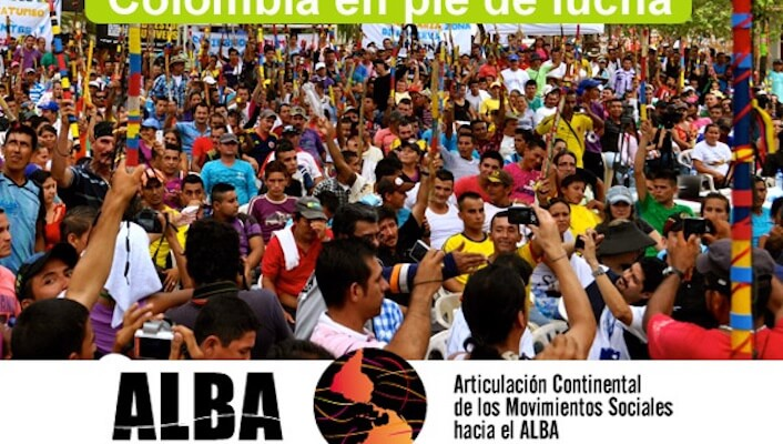 Political Declaration: Continental Coordination of Social Movements Towards ALBA