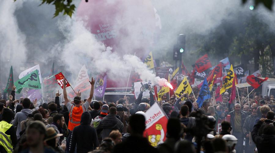 France mobilize a revolt