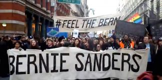 Sanders Philadelphia March