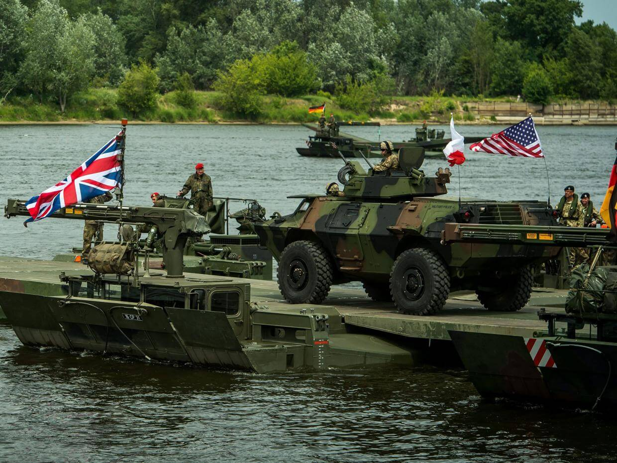 NATO Exercises Encircling Russia