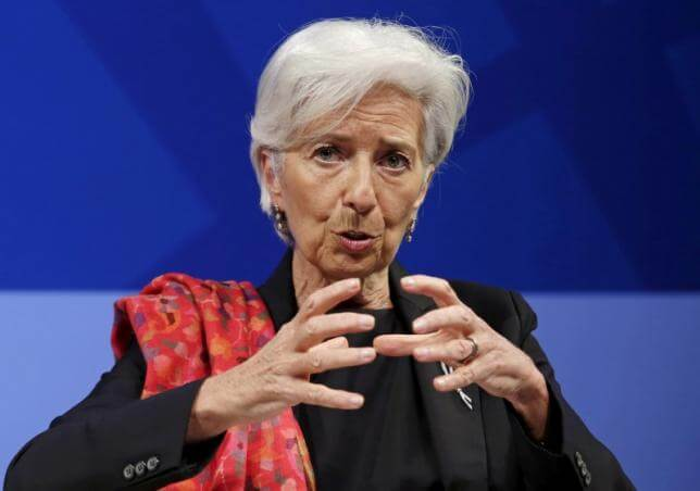 IMF's Lagarde wishes 'fellow European' Brits bon courage in EU vote