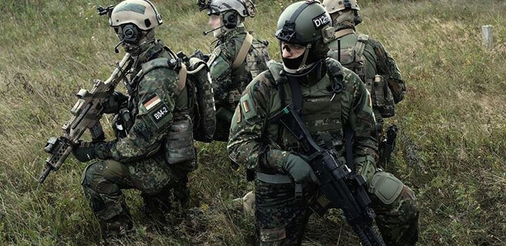 German special forces entered Syrian territory
