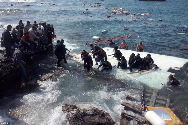 The Mediterranean Sea as a Mass Grave