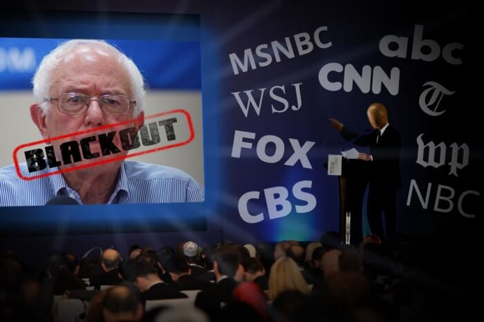 The media drive to shut down the Sanders campaign