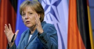 Merkel rearming Germany