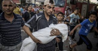 Who is responsible for the catastrophes in the Middle East?