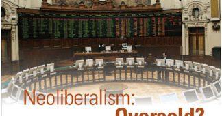 The retreat of neoliberalism