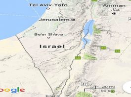 "Google ""erases"" Palestine from the map"