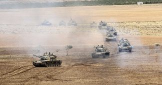 Turkey invades Syria and attacks Kurds with the approval of USA