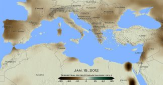 Drought in eastern Mediterranean worst of past 900 years