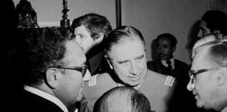 Kissinger assasinates Allende inaugurating neoliberalist era
