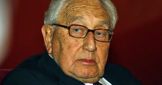 Poor Henry Kissinger also afraid of Iran