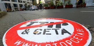 Soutien à la Wallonie contre le CETA + scandale en préparation