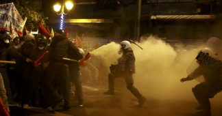 Greece: Protesters clash with police in Athens during Obama's visit