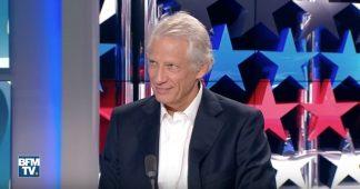 """[Vidéo] Villepin : """"Le Président ne comprend pas ce qu'il se passe aux États-Unis"""""""