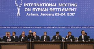 Syria Ceasefire Agreement in Astana, Turkey, Russia, Iran Establish a Trilateral Mechanism