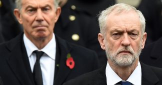 Preparing the War: Tony Blair Allied with Tories against Corbyn