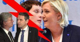 Extremes Droites Europeennes: Islam Notre Ennemi, Israel notre Avenir!