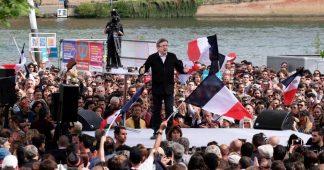Mélenchon: Νοn aux guerres de Trump, Nous sortons de l' OTAN –   Le Meeting de la Liberté
