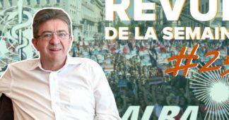 Message de solidarité de la Grèce à Jean-Luc Mélenchon et la France insoumise
